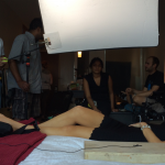 On set for PROXY