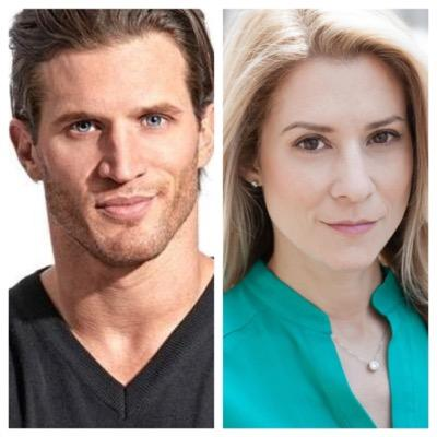 """Andy Peeke & Heather Brittain O'Scanlon, co-writers and stars of """"House Broken""""."""