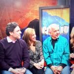 On the set of Chasing News with Jessica Nutt, Bill Spadea, Judi Franco, Dennis Malloy and Jillian Jablonski